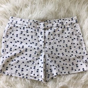 Ann Taylor palm tree shorts